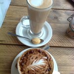 Delicious Latte and Cappuccino at The Cliff House Restaurant, Barton-on-Sea, Hampshire