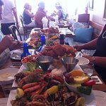 Seafood Platter for 2, ordered by 2 couples, amazing!!