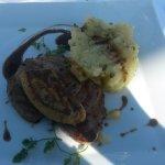 Thon mi cuit et foie gras.... un régal !!