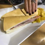 Cuban Sandwich and Fried Whole Snapper