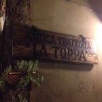 Photo de Antica Trattoria La Toppa