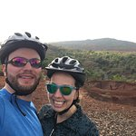 Scenic stop on the Waimea Canyon Bicycle Downhill tour with Outfitters Kauai