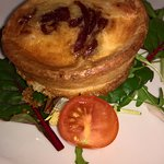 goats cheese and onion tart