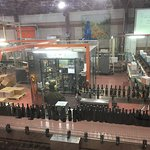 Golan Heights Winery - production line.