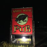 Warren House Pub sign