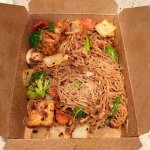 Ginger spicy noodles - Melting Pot - yum!