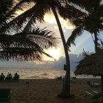 Sunrise from Seaspray beach.