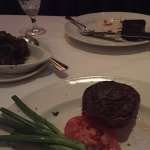 Order the 12 ounce filet it was way too much food we also had an appetizer and a brussels sprout