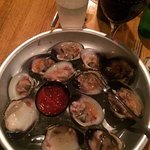 raw clams