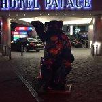Berlin Bear outside of Hotel