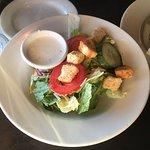 Smallish but fresh salad