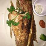Fried snapper...world class!
