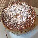 Hazelnut souffle for dessert