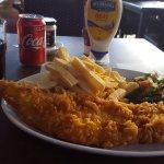 Fish and Chips dish.