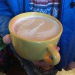 Huge latte!
