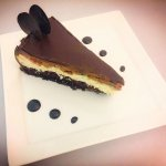 The best chocolate cheesecake ever!!