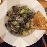 Clams and gnocchi