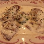 Chicken & Spinach Manicotti