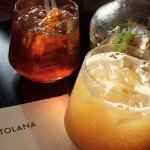 Great drinks menu at Ortolana