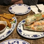 Massive and delicious spring rolls