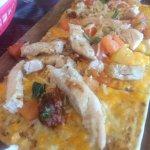 Chicken Cesear Flatbread