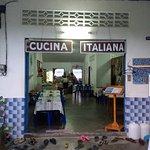 Caffe Della Moca - wonderful location with amazing Italian food!