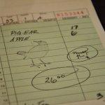 Bill with a bird signature.