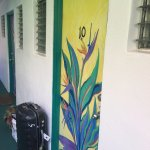 Painted door to my room