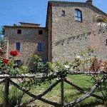 Particolare della facciata di Castel d'Arno