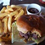 Dee view burger with tender juicy meat