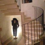 escalier hall d'accueil