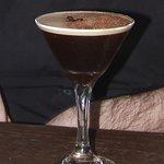 a cocktail - coffee + tia maria + vodka