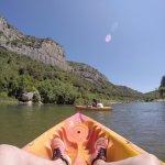 falaise canoe gardon