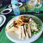 Kamili Club sandwich