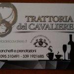 Photo de Trattoria del Cavaliere