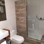 lovely bathroom and fantastic shower!