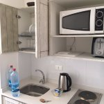 cute kitchenette with equipment to use!