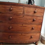 I loved this chest of drawers. It complemented the rooms decor.