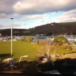 Lovely view of river Dart from room