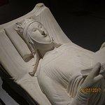 Replica of Eleanor of Aquitaine's tomb