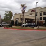 Entrance to Hampton Inn & Suites College Station