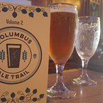 The bartender provided a Columbus Ale Trail guide as an added bonus