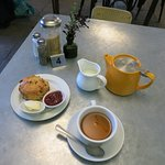 cream tea at the end of the visit