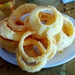 Light, flavorful Onion Rings...