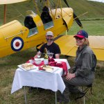 Delicious aeronautical picnic
