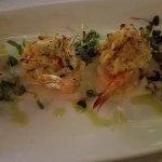 Stuffed shrimp at Oscar's.