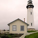 Pigeon Point Lighthouse - Lighthouse, keeper's house
