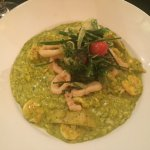 risotto with prawn and artichokes