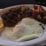Steak and Eggs - yummy