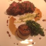 Exceptional venison main course
